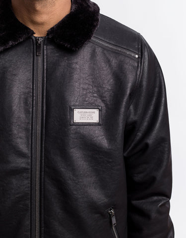 C&S BL FULL CLIP FLIGHT JACKET