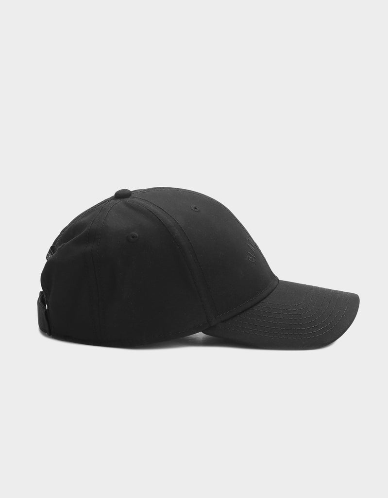 C&S BL BLACK ARCH CURVED CAP