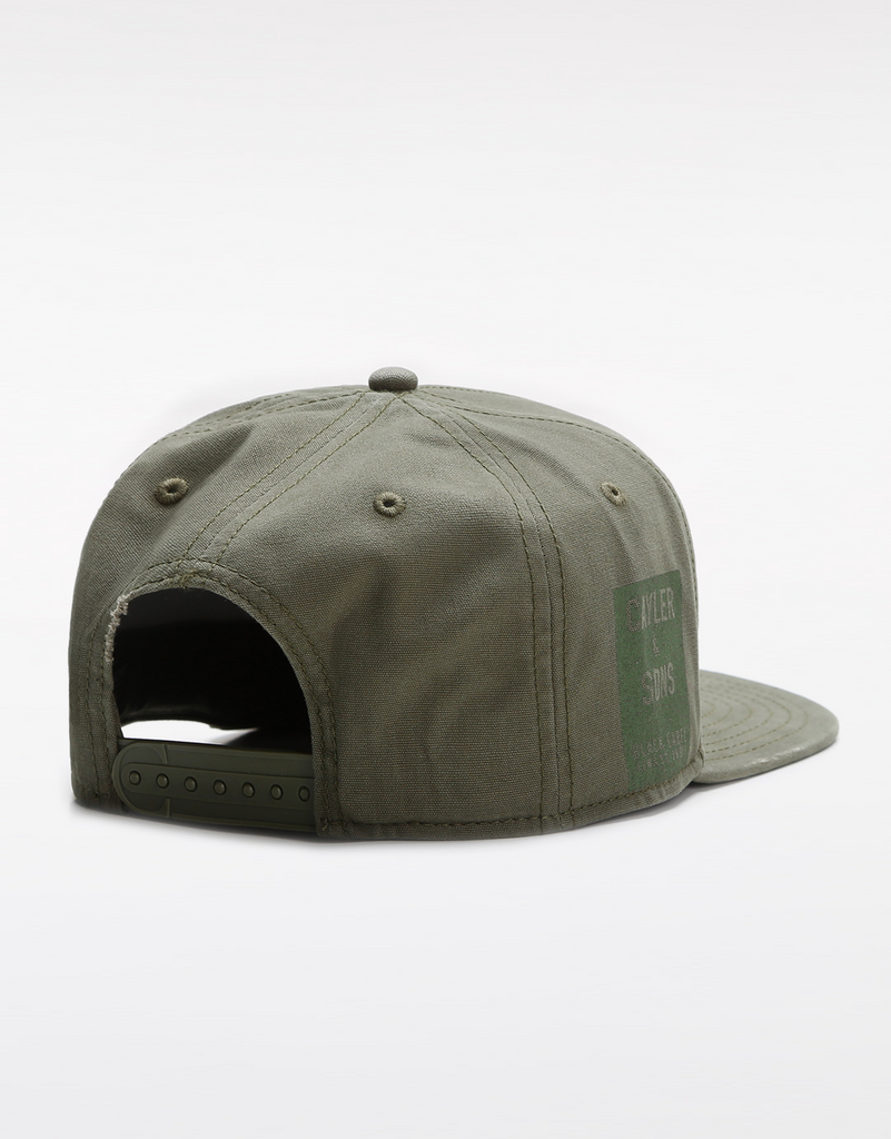 C&S BL BLACK ARCH CAP