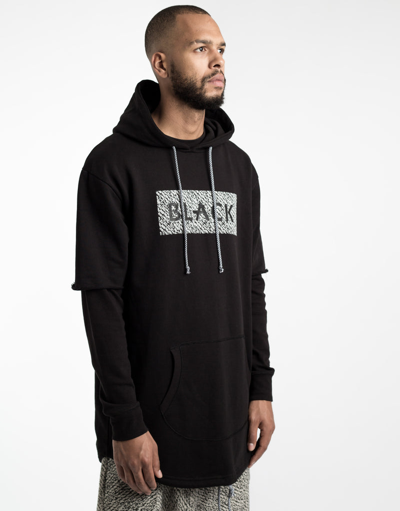 C&S BL PRESIDENTIAL CUT OFF LAYER HOODY