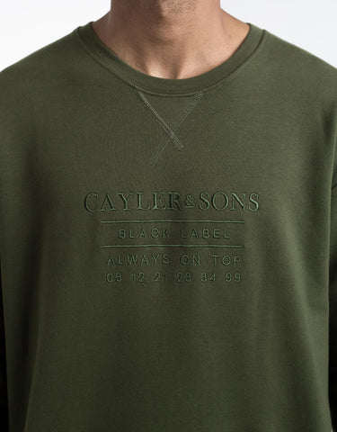 C&S BL BOX CUT OFF LAYER CREWNECK