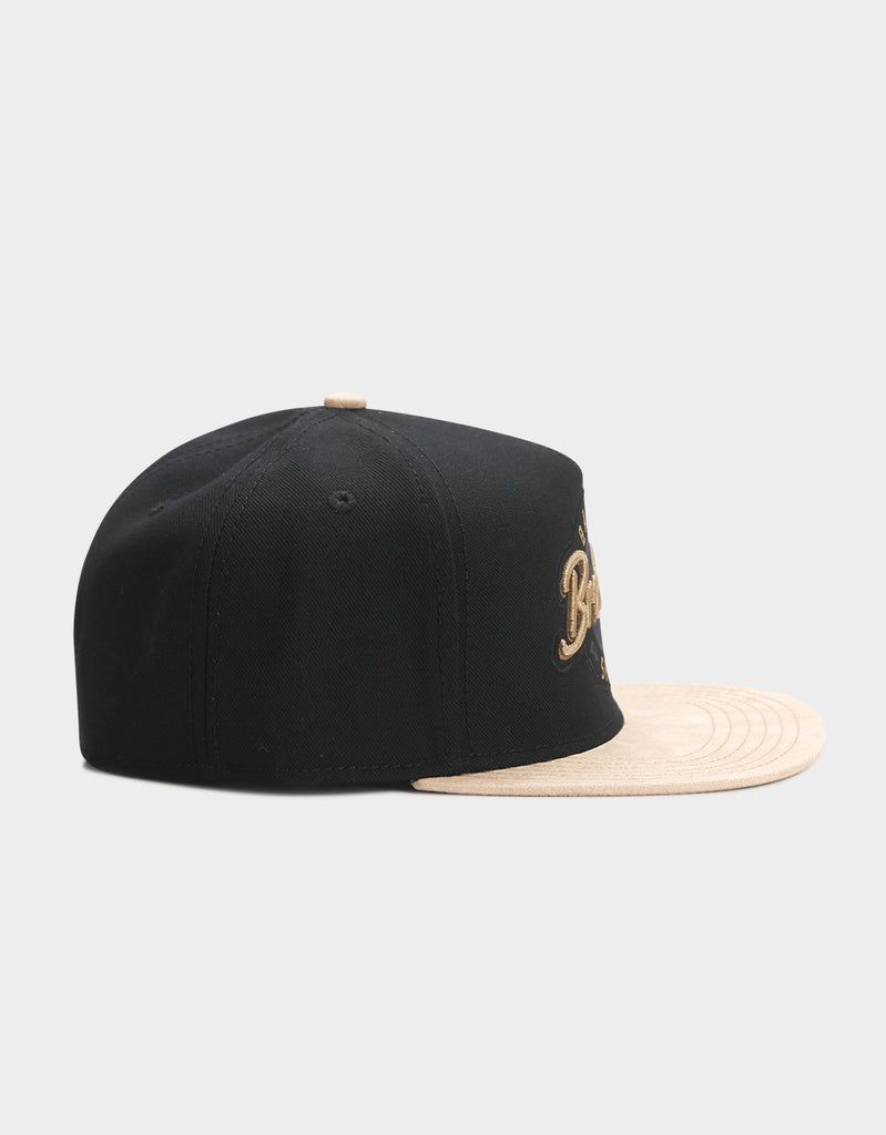 C&S CL BK BARBER CAP