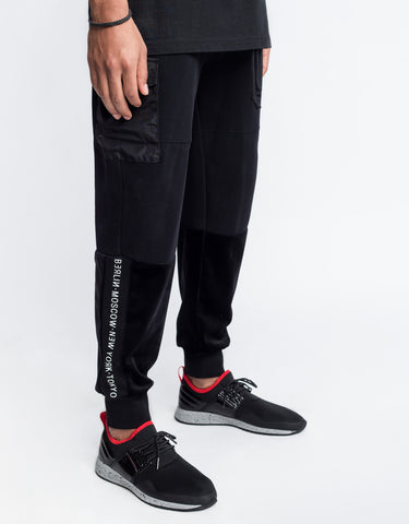 CSBL SERIES CARGO SWEATPANTS