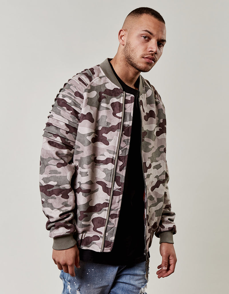 CSBL PLEATED BOMBER
