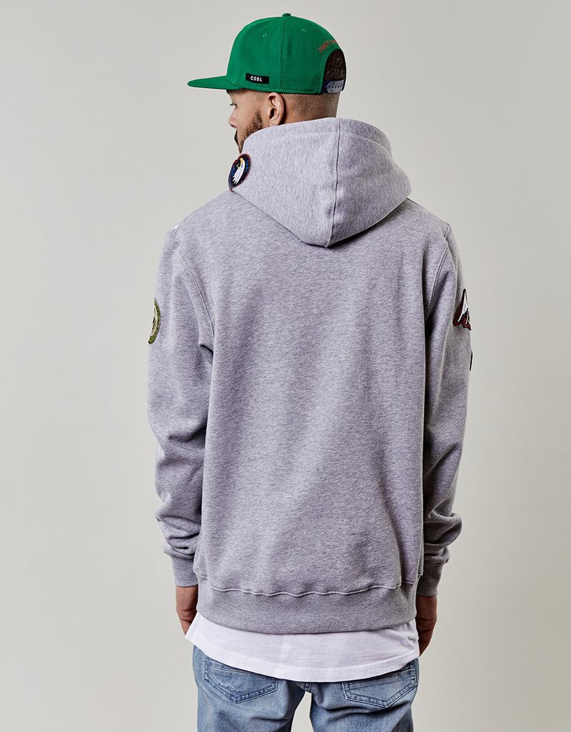 CSBL PATCHED HOODY