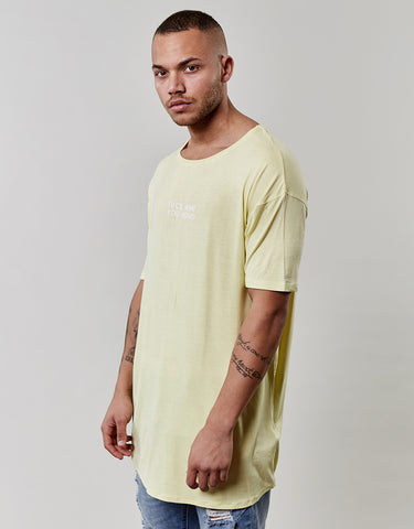 CSBL YOU HEAR DROP SHOULDER SCALLOP TEE