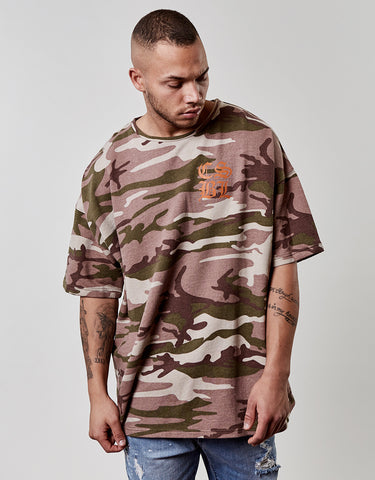 CSBL DOOMED OVERSIZED DROP SHOULDER TEE