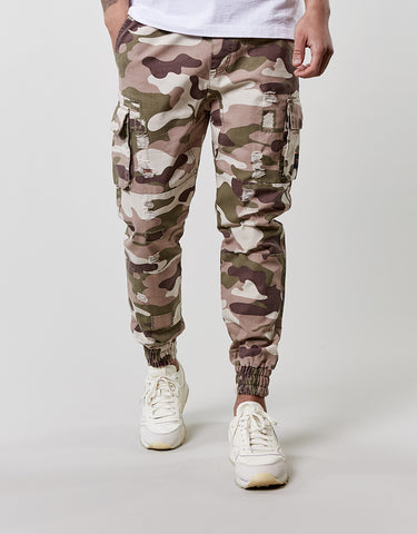 CSBL DOOMED DISTRESSED JOGGER  PANTS