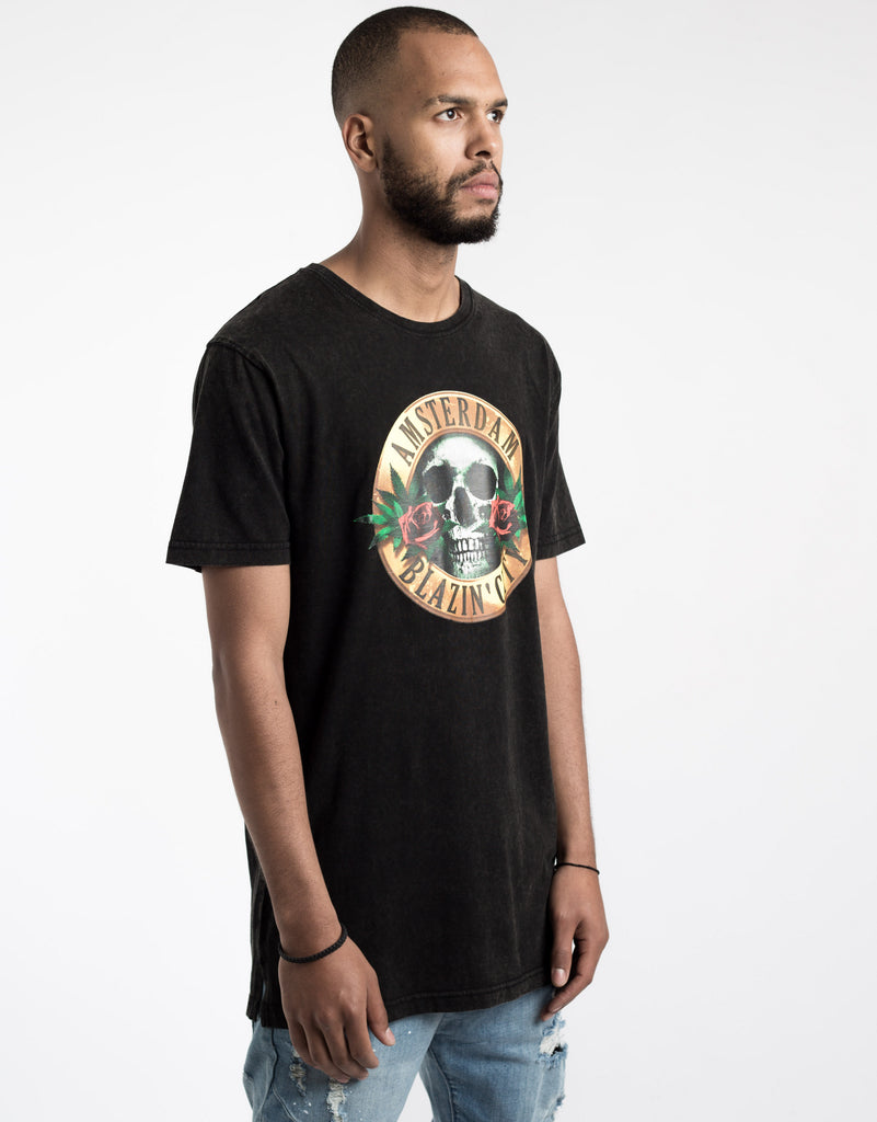C&S GL BUDZ N ROSES LONG TEE