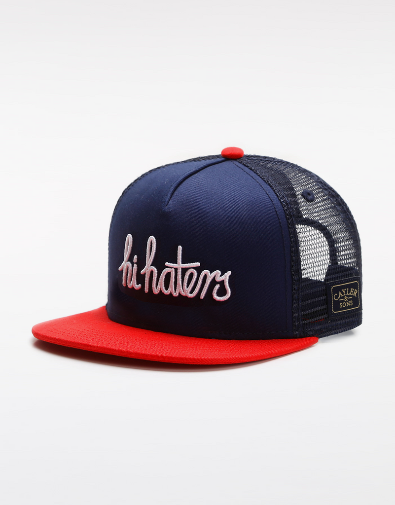C&S WL HI HATERS TRUCKER CAP
