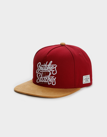 C&S WL GET STITCHES CAP