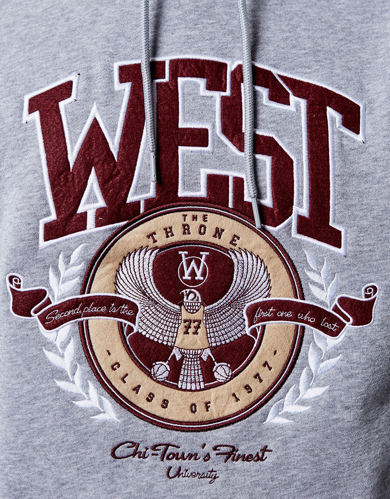 C&S WL WEST UNIVERSITY HOODY