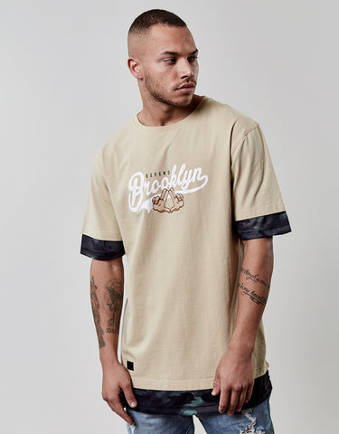 C&S WL DEFEND BK LONG LAYER TEE
