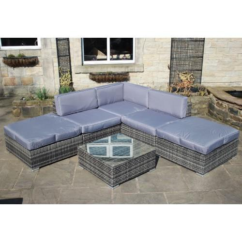 Grey Rattan Garden Furniture Uk Grey rattan outdoor garden furniture corner sofa set rat139gry grey rattan outdoor garden furniture corner sofa set rat139gry emporium52 workwithnaturefo