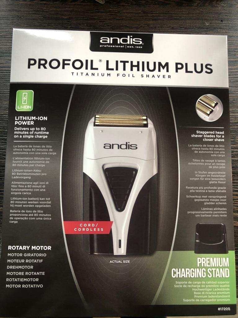 andis Clippers Andis Profoil Plus Lithium