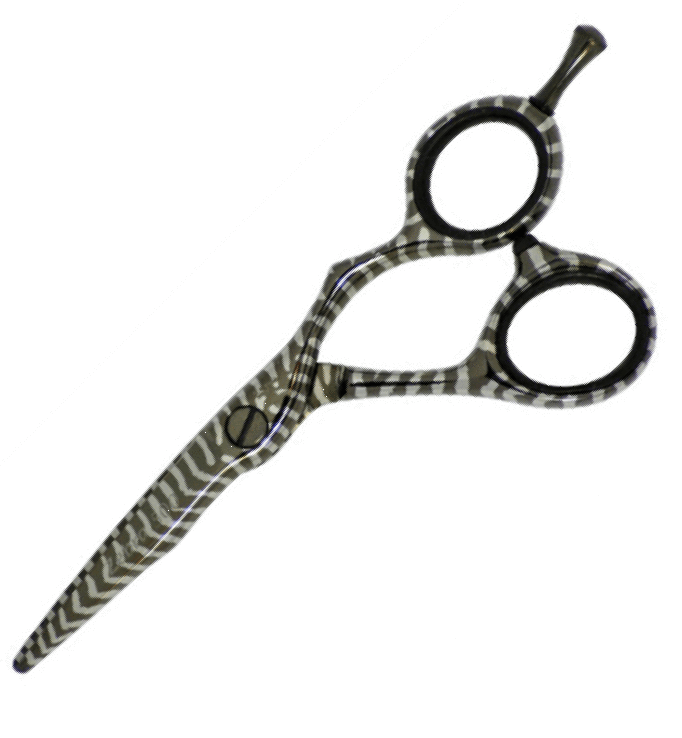 tri Hairdressing Scissors TRI Zebra Print