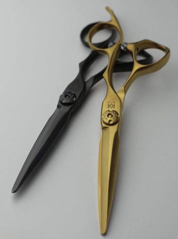 yoiscissors.co.uk Hairdressing Scissors Green Mouse Matt