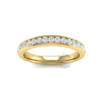 Channel Set Court Diamond Ring (0.45 ct.)