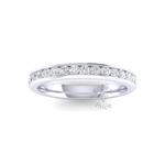 Full Channel Set Court Diamond Ring (0.99 ct.)
