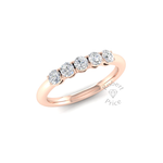 Vintage Claw Set Court Diamond Ring (0.5 ct.)