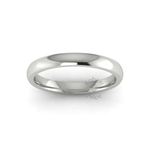 Classic Deluxe Wedding Ring in 18ct White Gold (3mm)