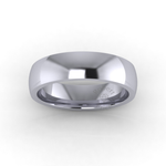 Classic Deluxe Wedding Ring in Platinum (6mm)