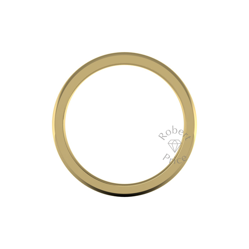 Classic Deluxe Wedding Ring in 9ct Yellow Gold (8mm)