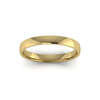 Classic Standard Wedding Ring in 9ct Yellow Gold (3mm)