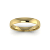 Classic Standard Wedding Ring in 9ct Yellow Gold (3.5mm)