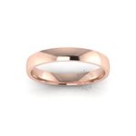 Classic Standard Wedding Ring in 18ct Rose Gold (4mm)