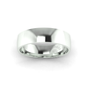Classic Standard Wedding Ring in 9ct White Gold (6mm)