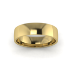 Classic Standard Wedding Ring in 9ct Yellow Gold (6mm)