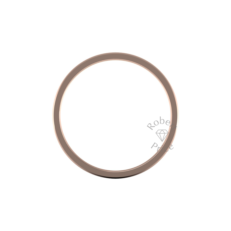 Classic Standard Wedding Ring in 18ct Rose Gold (6mm)