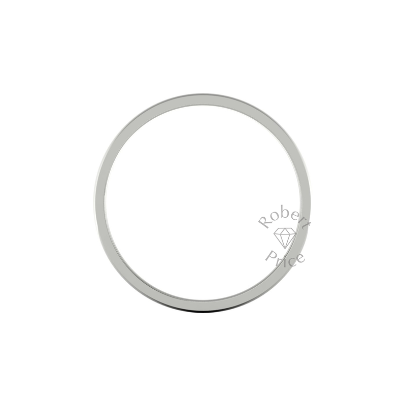 Classic Standard Wedding Ring in 18ct White Gold (7mm)