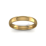 Classic Heavy Wedding Ring in 18ct Yellow Gold (3.5mm)