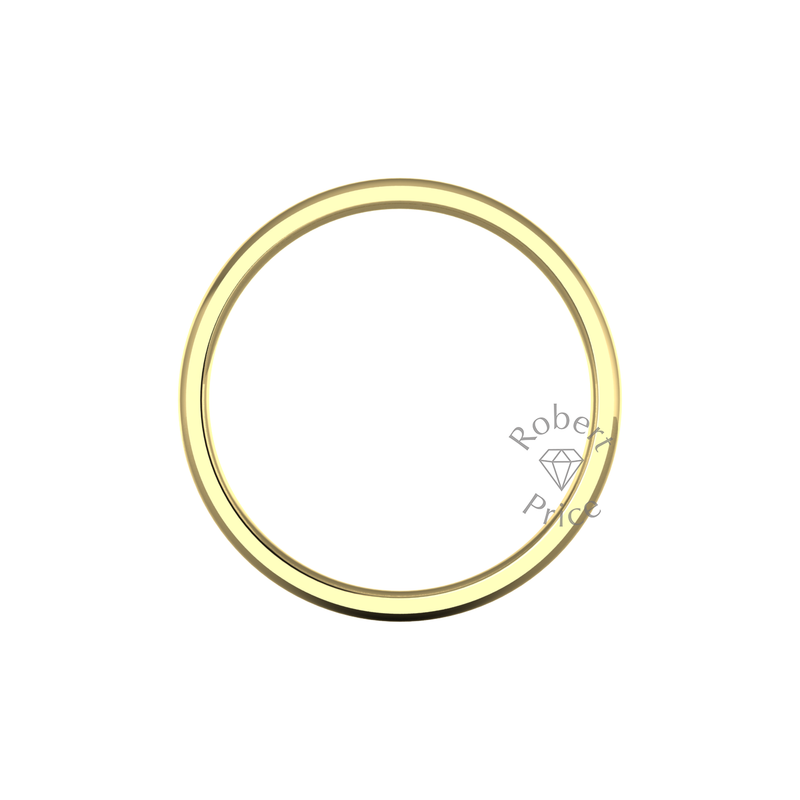 Classic Heavy Wedding Ring in 9ct Yellow Gold (3.5mm)