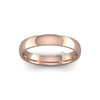 Classic Heavy Wedding Ring in 18ct Rose Gold (4mm)