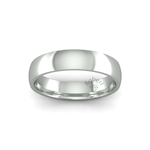 Classic Heavy Wedding Ring in 9ct White Gold (5mm)