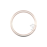 Classic Heavy Wedding Ring in 9ct Rose Gold (6mm)