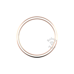 Classic Heavy Wedding Ring in 9ct Rose Gold (7mm)