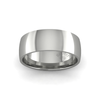Classic Heavy Wedding Ring in 18ct White Gold (8mm)
