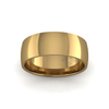 Classic Heavy Wedding Ring in 18ct Yellow Gold (8mm)