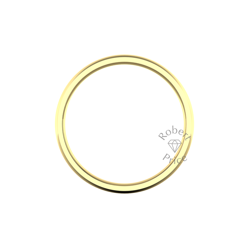 Classic Heavy Wedding Ring in 9ct Yellow Gold (8mm)