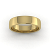 Soft Court Heavy Wedding Ring in 9ct Yellow Gold (6mm)