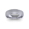 Two Tone Wedding Ring in Platinum (6mm)