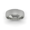 Two Tone Wedding Ring in 18ct White Gold (7mm)