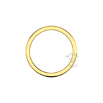 Classic Deluxe Wedding Ring in 18ct Yellow Gold (2mm)