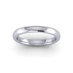 Classic Deluxe Wedding Ring in Platinum (2.5mm)