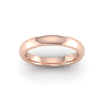 Classic Deluxe Wedding Ring in 18ct Rose Gold (3mm)