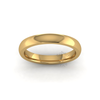 Classic Deluxe Wedding Ring in 18ct Yellow Gold (3mm)